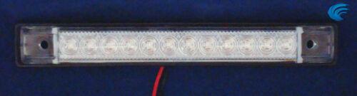 "BLUE 6/"" Car Boat RV 12 LED LIGHT STRIP Waterproof HQ 12V Marine Accent Lighting"