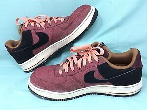 9204b9dc492a ... discount code for image is loading nike air force 1 noble low canvas  red da210 319ee