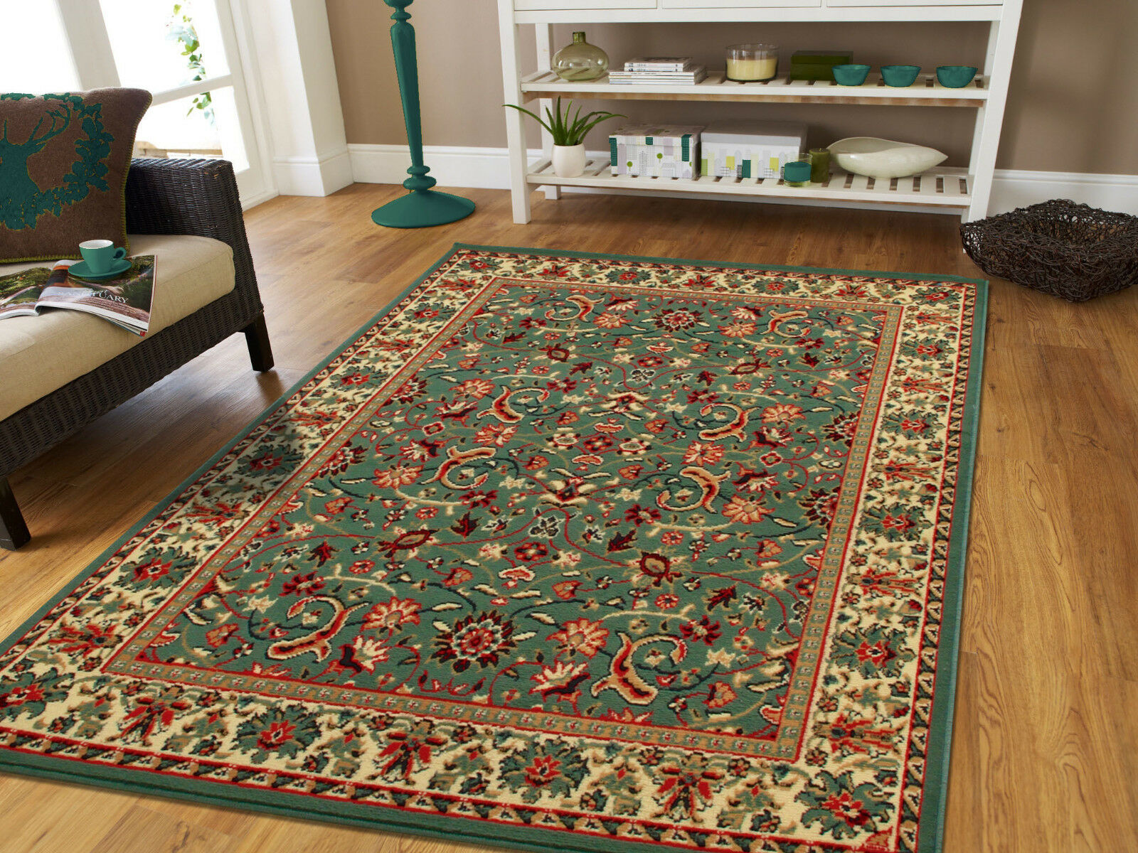 Traditional Old Area Rug Hand Knotted Wool Oriental Room Size Carpet 10x13 Red For Sale Online Ebay