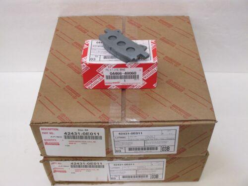 LEXUS OEM FACTORY REAR BRAKE ROTOR AND PAD SET 2004-2009 RX330 RX350 NAP