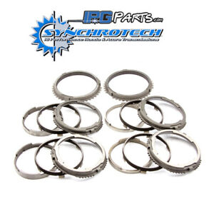 6th Steel Bronze Synchros Fits Nissan Skyline R34 GTR V160 Synchrotech 1st