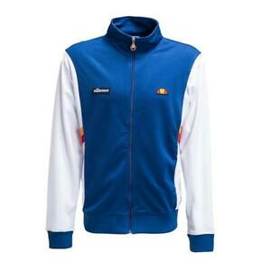 Ellesse-Men-s-Track-Top-Jacket-Zip-Up-Blue-White