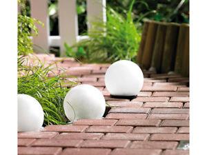 Lampada a palla da giardino a led ad energia solare decorative con