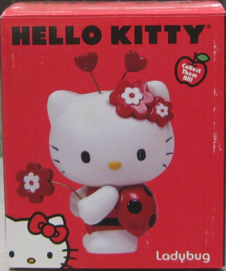 HELLO KITTY LADYBUG FIGURINE BY PRECIOUS MOMENTS  BRAND NEW IN BOX