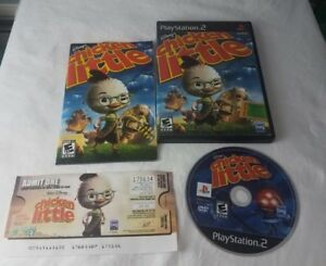 Disney-039-s-Chicken-Little-Sony-PlayStation-2-PS2-COMPLETE-GAME-IN-CASE