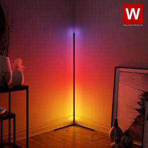 The Prysm™ Modern RGB Lamp - LED Corner Floor Lamp - LED Light Strip for Room