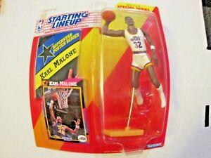1992 Starting Lineup Basketball Figure Karl Malone Utah Jazz