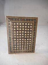 Antique Mosaic inlaid Card Case  2969