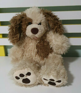 BUILD-A-BEAR-DOG-BROWN-WITH-BROWN-PATCH-ON-TUMMY-BAB-40CM-DOG-TOY