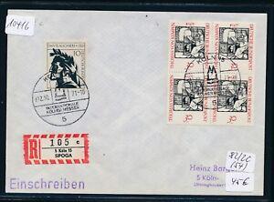 10416) Spécial R-ticket De Cologne Spoga, Lettre Sst 12.10.71-afficher Le Titre D'origine