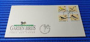 1991 Singapore First Day Cover Bird Series Garden Birds Special Stamp Issue