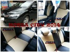Honda City High quality Factory Fit Customized Leather CAR SEAT COVER