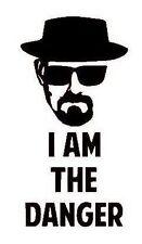 Breaking Bad Heisenberg 'I Am The Danger' Vinyl Decal Sticker