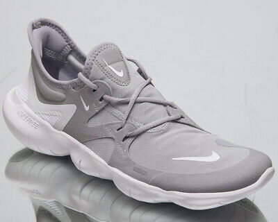 Nike Free RN 5.0 Men's New Wolf Grey White Platinum Running Sneakers AQ1289 001 | eBay