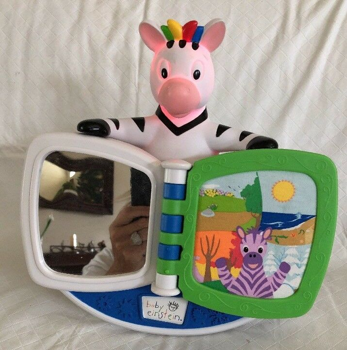 Baby Einstein Giraffe Four Seasons Lighted Sounds Crib Soother Soft Baby Book