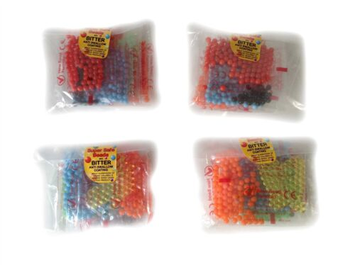 SAFE FORMULA 6 COLOURS New 1800 BINDEEZ Refill Beads