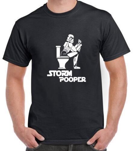 Storm Pooper Funny Star Wars Parody T-Shirt Gift