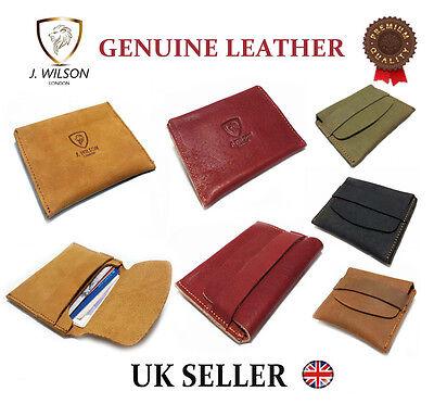 2019 Neuer Stil Mens Leather Slim Front Pocket Designer Wallet Cash Credit Card Money Holder