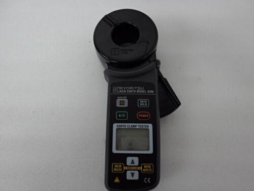 AS-IS KYORITSU 4200 Earth Clamp Tester Failed
