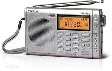 TECSUN PL-450 Digital FM-Stereo Synthesiz Dual Conversion FM  Radio PL450-Silver