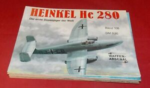 WA 108 Heinkel He 280 Der erste Düsenjäger der Welt