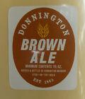 VINTAGE BRITISH BEER LABEL - DONNINGTON BROWN ALE 19 1/3 #5