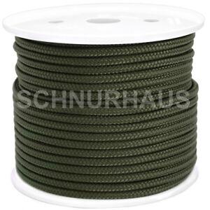 5mm-PP-Seil-50m-oliv-Polypropylenschnur-Tarnung-military-Bundeswehr-SCHNURHAUS