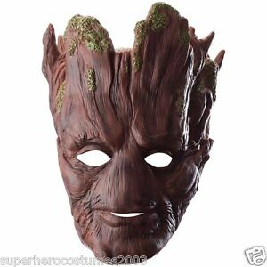 Guardians-of-the-Galaxy-Groot-Adult-Costume-Mask-Superhero-New-Rubies-35602