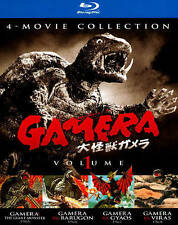 NEW Gamera: 4-Movie Collection, Vol. 1 Blu-ray (Giant Monster, Barugon, Gyaos)
