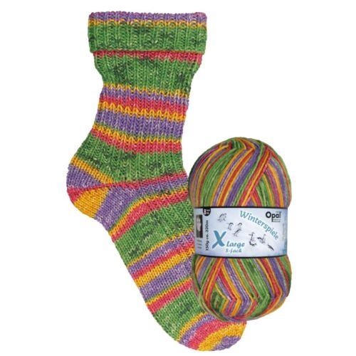 """Full Range Winter Games/"""" 8ply Sock Yarn Opal /""""Winterspiele"""