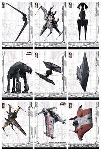 Topps-Star-Wars-Digital-Card-Trader-9-Card-TLJ-Selects-Vehicles-Insert-Set