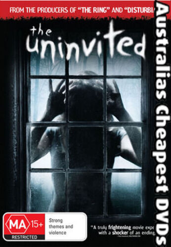 1 of 1 - The Uninvited DVD NEW, FREE POSTAGE WITHIN  AUSTRALIA  REGION 4