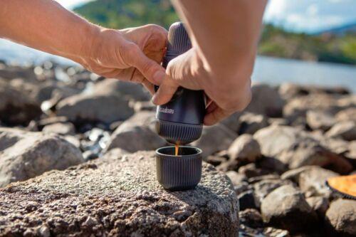 Wacaco Nanopresso Pocket Sized Portable Espresso Coffee Machine with Case