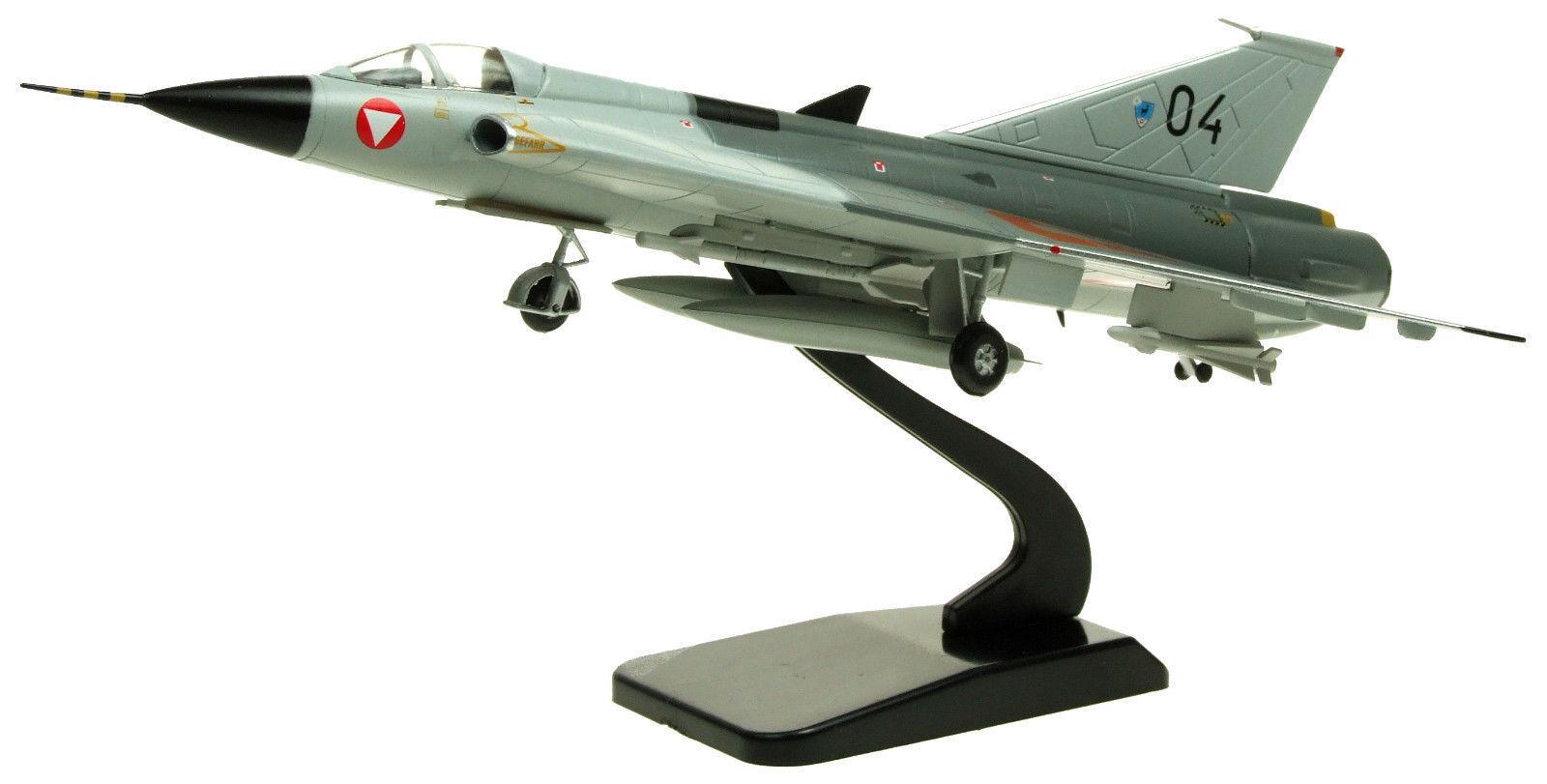 AVIATION72 AV7241006 1 72 SAAB DRAKEN J35 AUSTRIAN AIR FORCE 04 INCLUDING STAND