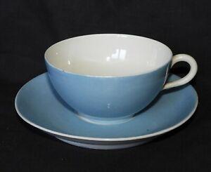 G'] Tasse et sous-tasse en PORCELAINE DE LIMOGES (bleu - blanc) KzeB0fCT-09101730-782559252