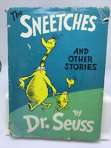HC The Sneetches and Other Stories Dr Seuss 1961 1st ed large dust-jacket
