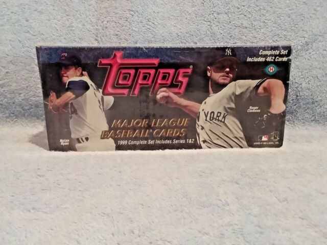 Topps 1999 Major League Baseball Cards Series 1 2 Complete Set Of 462 Mint