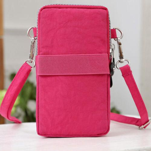 Women Small Travel Crossbody Cell Phone Pouch Shoulder Bag Wallet Purse Handbag