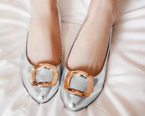 Ballerine Comode Eleganti Lucido Scarpe Donna 8795 Cm Argent Rasoterra Tacco 1 5w6UqPBw