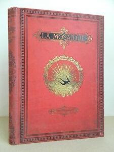 – Die Mosaik Zeitschrift Malerisches Illustrée Von Jeder Temps Und Pays 1881