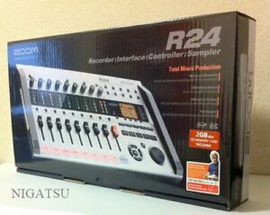 NEW-Zoom-R24-24-track-Simultaneous-Playback-Multi-Track-Recorder-JAPAN