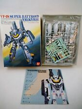 90's Bandai 1/100 scale Macross VF-1S Roy Focker NMIB Skull Leader Kit Robotech