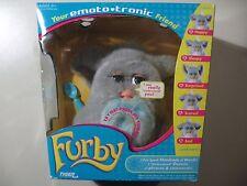 2005 Emototronic Furby doll, gray w/blue belly, Brand New Sealed, needs batt.
