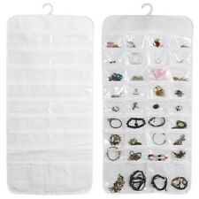 Macbeth Collection Hanging Jewelry Organizer 82 Pocket Floral