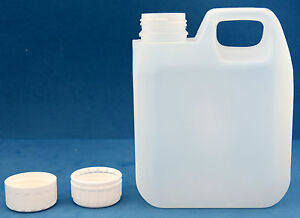 10-x-1-Litre-Natural-Plastic-Jerry-Cans-with-38mm-T-E-Screw-Caps