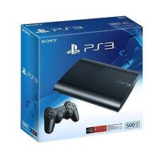 Premium PlayStation 3 500 GB System Very Good 5Z