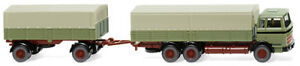 WIKING-043306-Flatbed-Trailer-MB-Reed-Green-1-87-H0