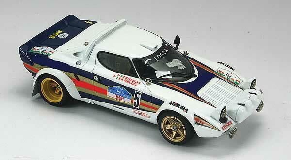 suministro directo de los fabricantes Kit Lancia Stratos  5 Rally Targa Florio 1981 1981 1981 - Arena Models kit 1 43  tienda de bajo costo