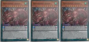 Super Rare RIRA-EN011 x3 Mayosenju Hitot M//NM 1st Edition Yu-Gi-Oh