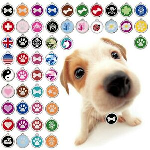 Hundemarke-Hundemarken-Red-Dingo-Tiermarke-Adressanhaenger-mit-Gravur-Glitter
